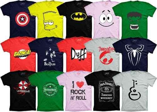 64f24807a Camisetas Personalizadas - Grafstock