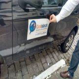 Manta Magnética Adesivada Para Carros